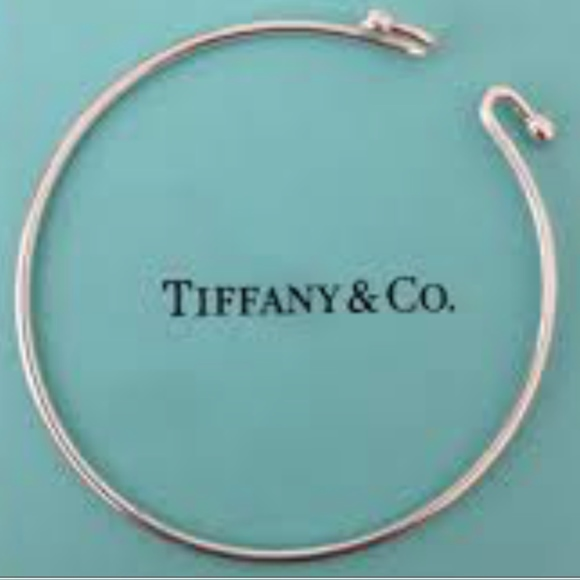 5728c7ddf Tiffany & Co. Jewelry | Tiffany Co Sterling Silver Wire Bracelet ...